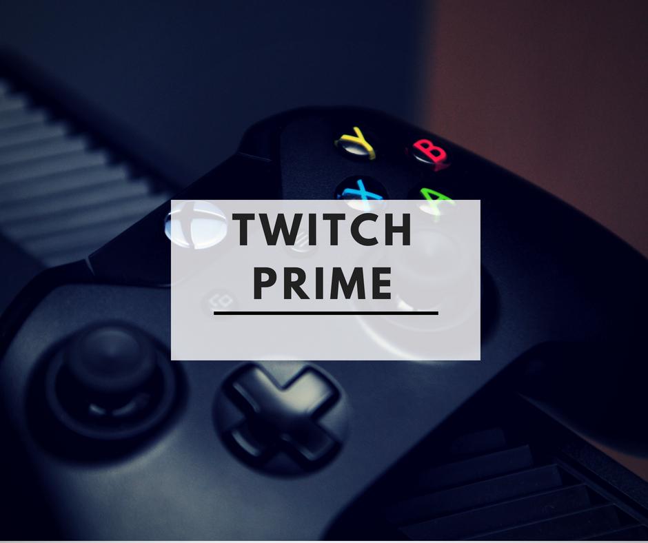 Twitch Prime ツイッチ
