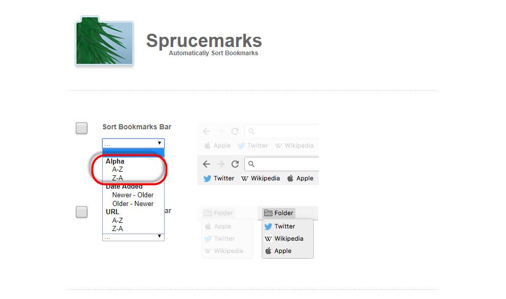 Sprucemarks 操作方法