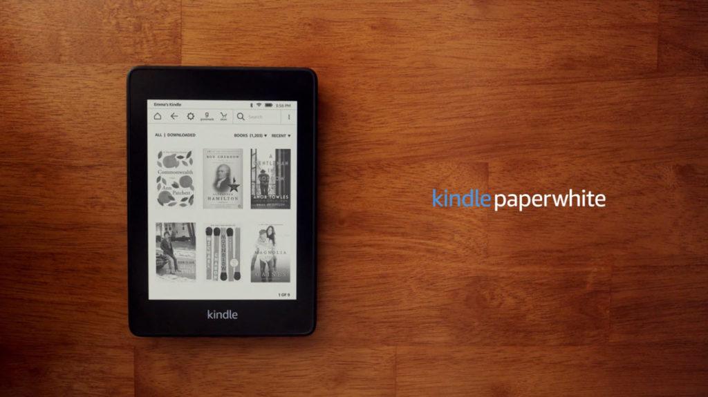 新型 kindle paperwhite ペーパーホワイト 防水機能 追加 最軽量 変わった点