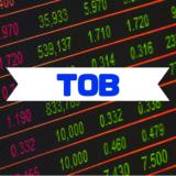 TOBとは 株式公開買付け