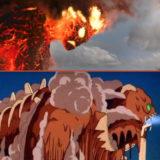 モアナと伝説の海 テカァ 風の谷のナウシカ 宮崎駿 パクリ 巨神兵