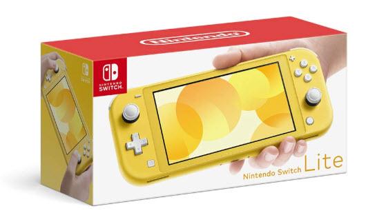 Nintendo Switch Lite(ニンテンドースイッチライト) イエロー