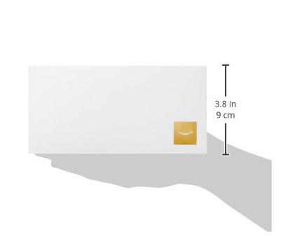 アマギフ amazonギフト券 商品券タイプ 5000円 封筒のサイズ