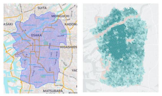 Uber Eats UberEats ウーバーイーツ エリア 地域 大阪府 大阪市 東大阪市 八尾市 豊中市 吹田市