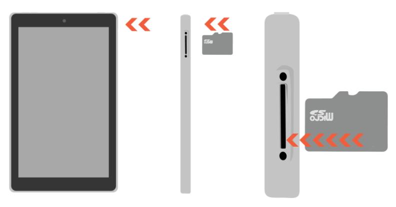 マイクロSDカード fireタブレット fire tablet ファイアータブレット