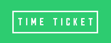 タイムチケット time ticket timeticket logo ロゴ