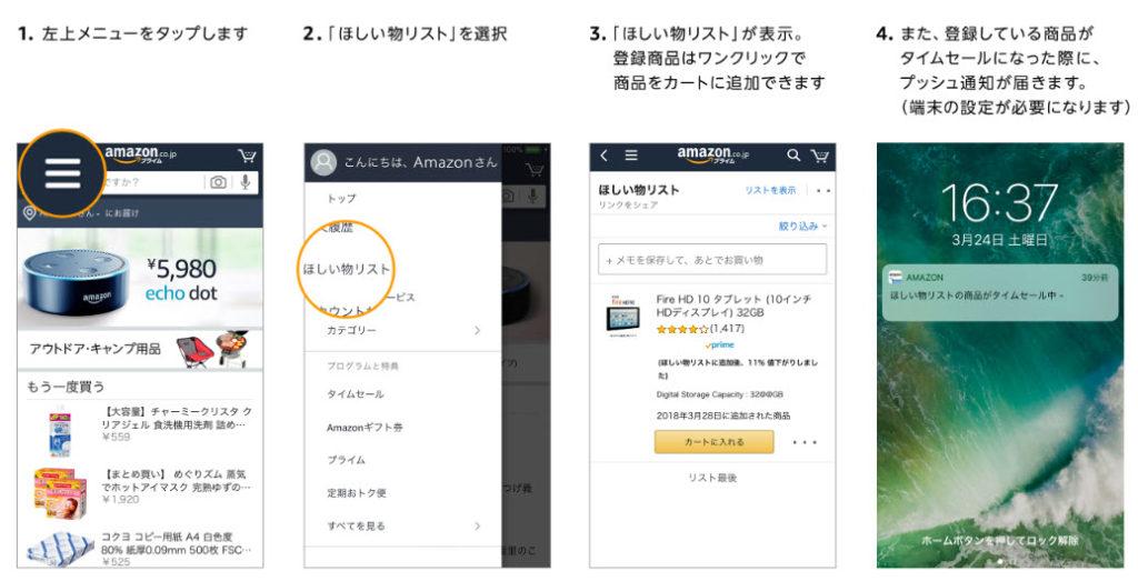 amazon prime day アマゾンプライムデー 2020 ほしい物リスト 使い方