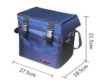 ubereats ウーバーイーツ 配達用バッグ 使い方 仕切り方 保冷バッグ 保温バッグ 10L