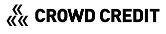 クラウドクレジット crowd credit ロゴ logo