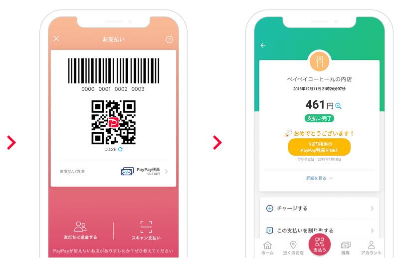 PayPay ペイペイ スマホ決済 使い方 始め方 新規登録方法 店舗 お店 導入 コード支払い