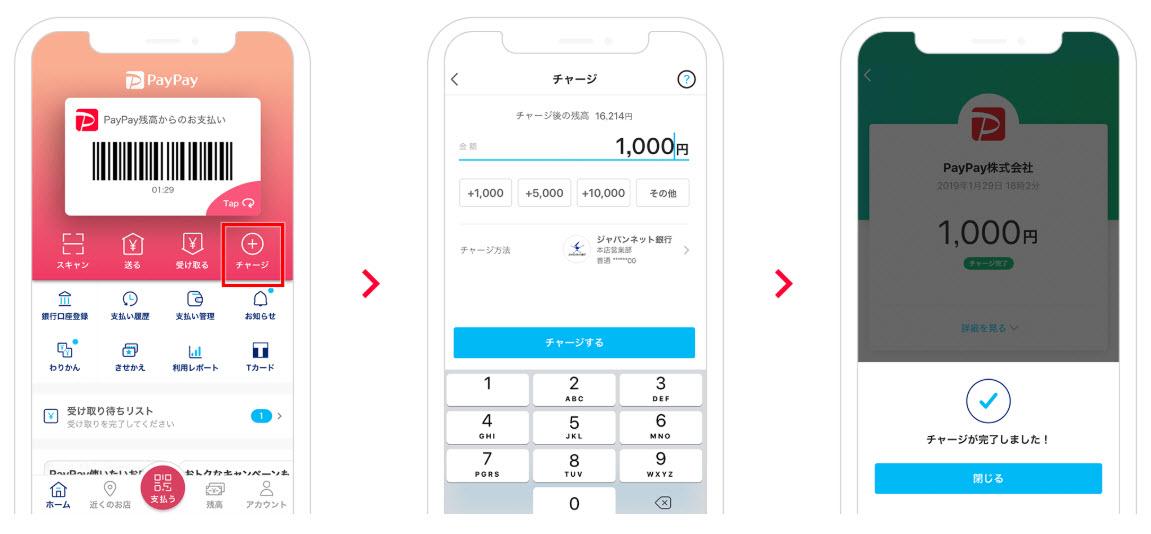 PayPay ペイペイ スマホ決済 使い方 始め方 新規登録方法 店舗 お店 導入 加盟店 チャージ クレジットカード チャージ