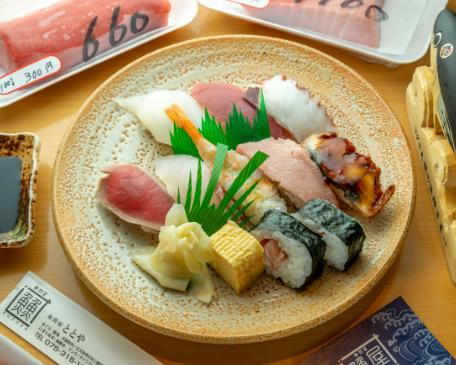 ウーバーイーツ ubereats 注文 京都エリア 人気店 おすすめ店舗 お寿司 ランチ 魚問屋ととや 丹波口