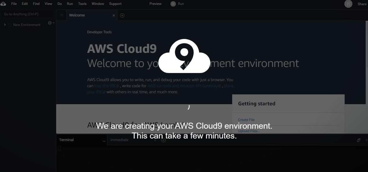 AWS Cloud9 環境構築 AWSクラウド9 開発環境 導入 無料枠 インストール ダウンロード 始め方 開設方法 登録方法 アップロード 解約 退会 サインイン 環境開発 構築環境 使い方